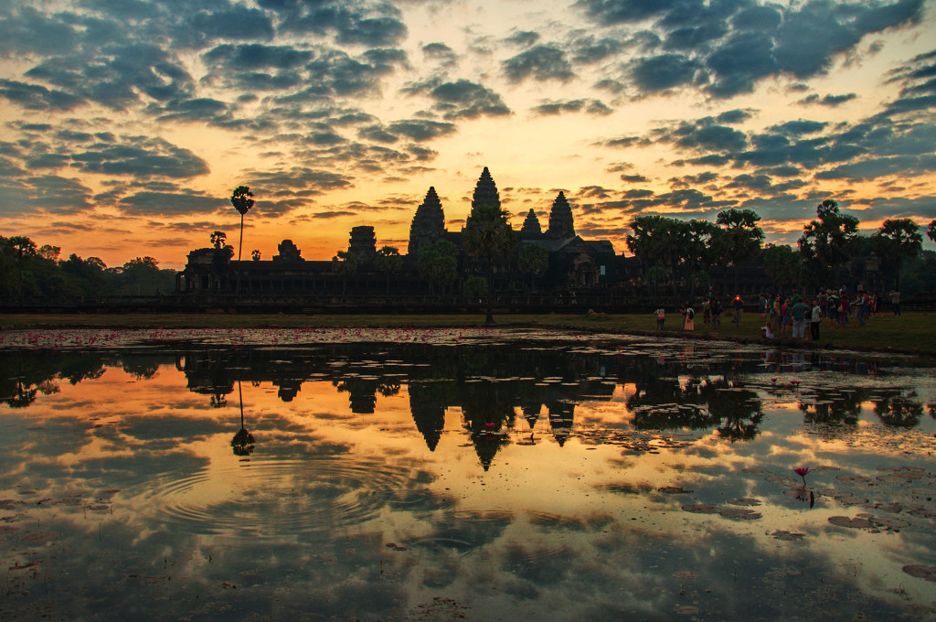 Angkor Wat, Siem Reap, Cambodia at Sunrise 2