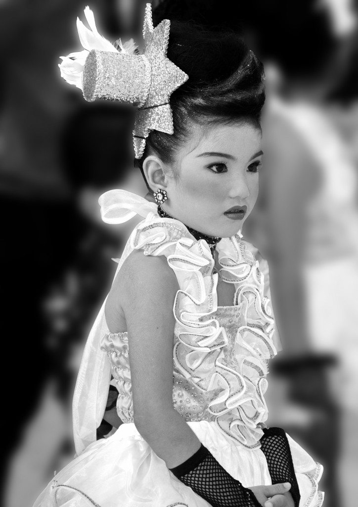 Thai girl in costume