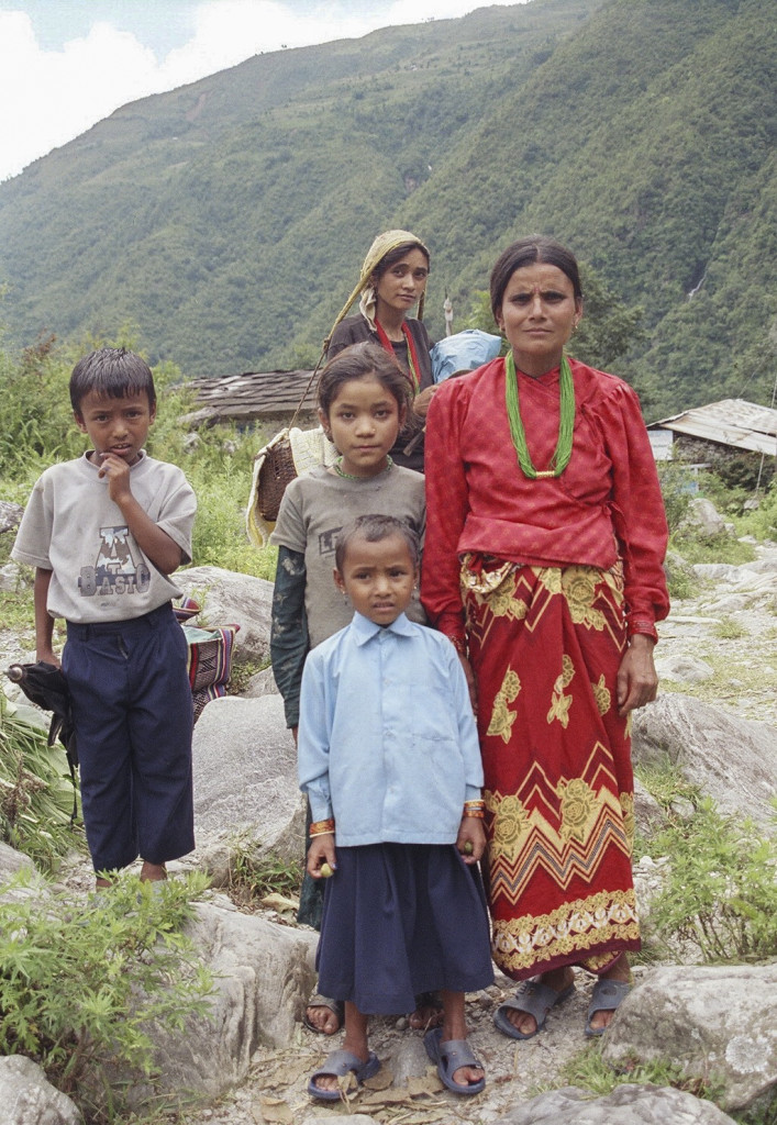 Nepalese Family